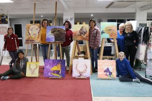 results, painting workshop