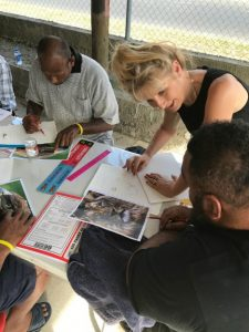 Workshop in Fiji