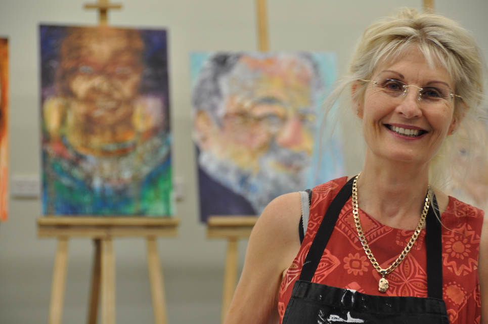 Grace Bailey, Friendly painting workshop