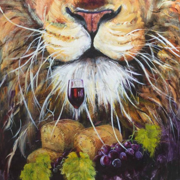 communion symbols, vine, wine, bread, lion of judah, chrch, Christianity