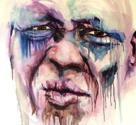 refugee, pain, emotional expression