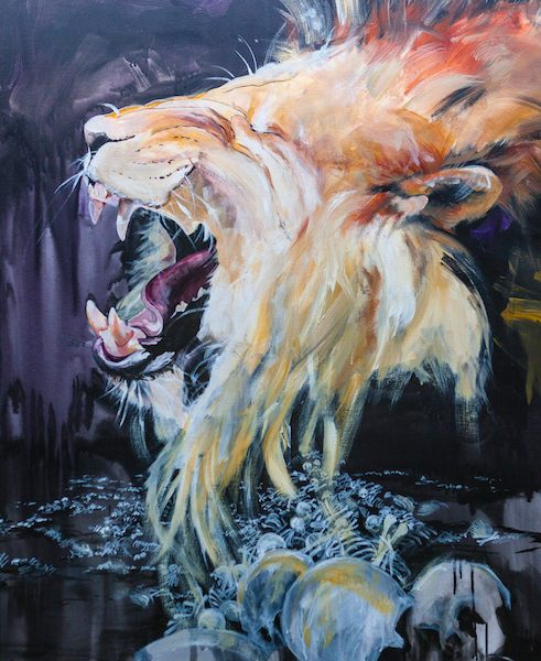 Valley of Dry Bones, Lion of Judah, lion, laughter