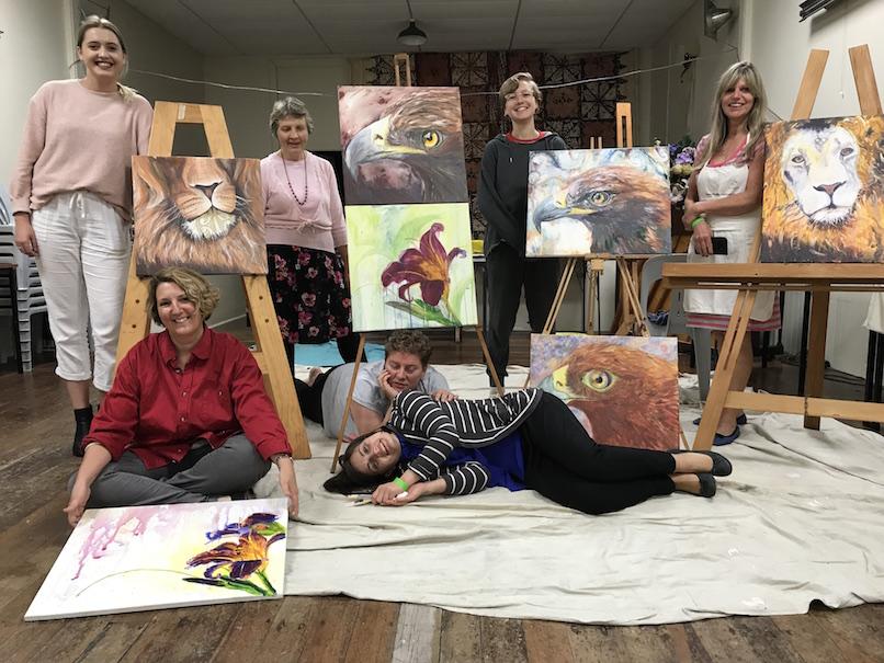 all ages, eagles, prophetic art workshop, christchurch