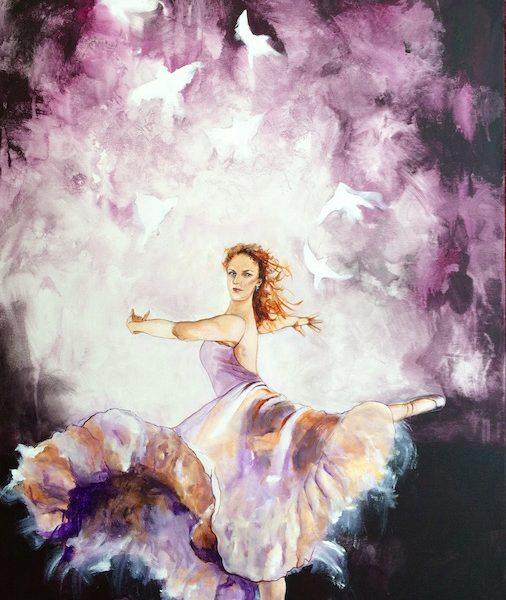 Dance To The Lord, ballet dancer, pink dancer, supernatural dancer