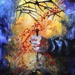 Crucifixion of Jesus, crown of thorns, blood