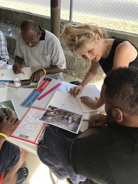 arts workshop in fiji