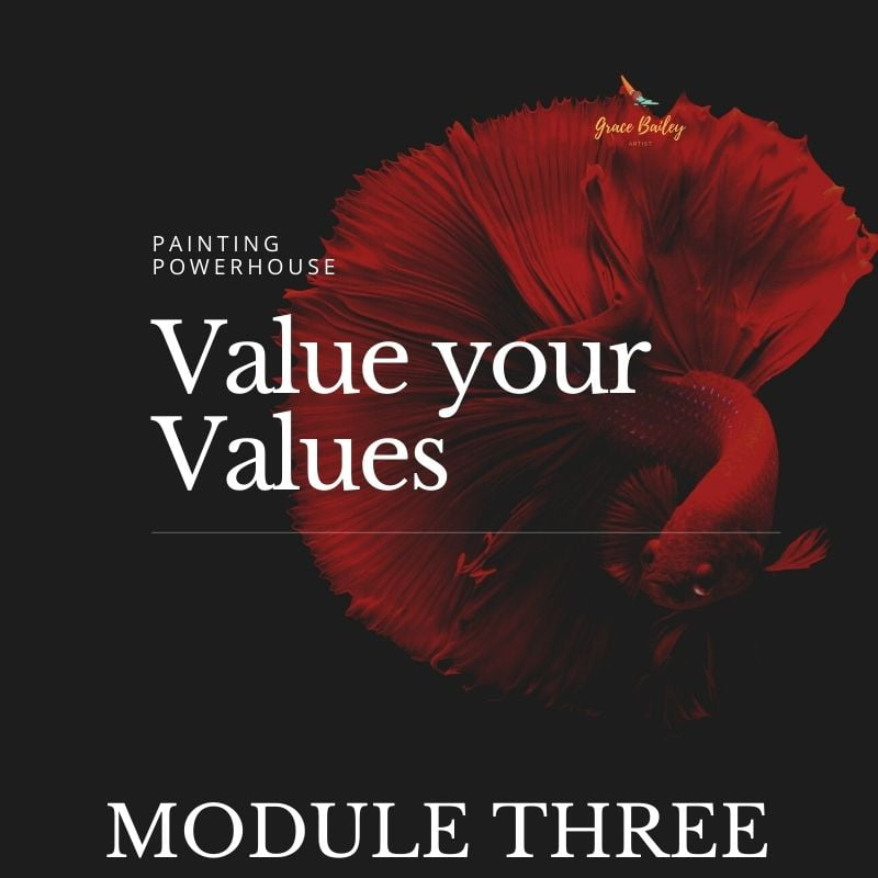 Value Your Values, values in art