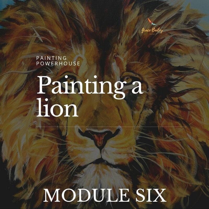 Paint a Lion