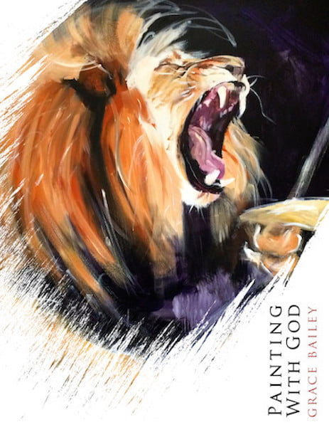 Painting With God, book cover for prophetic art