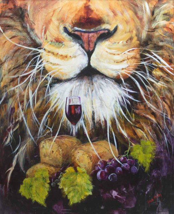 communion symbols, vine, wine, bread, lion of judah, chrch, Christianity