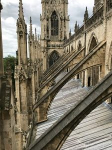 The roof of Hull Minster