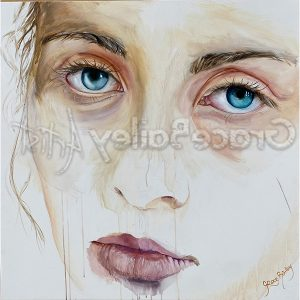 my beloved, portrait painting