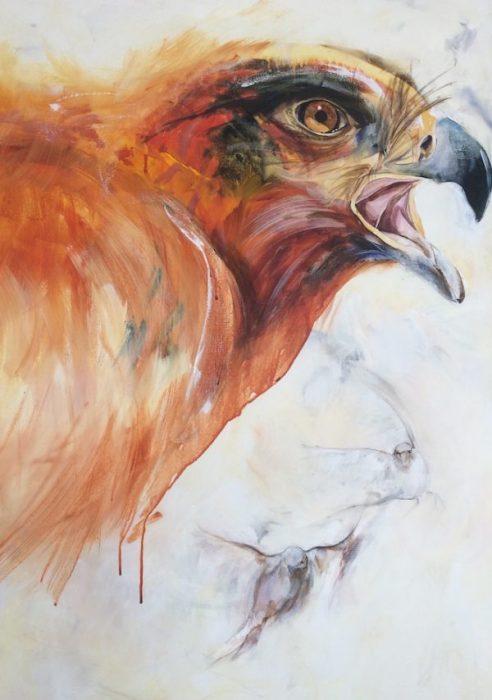 eagle, sparrow, taking off, soar like an eagle