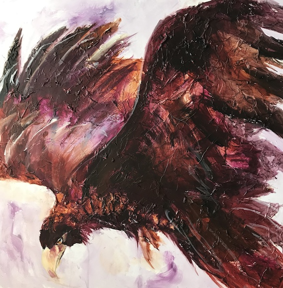 eagle, contemporary art,