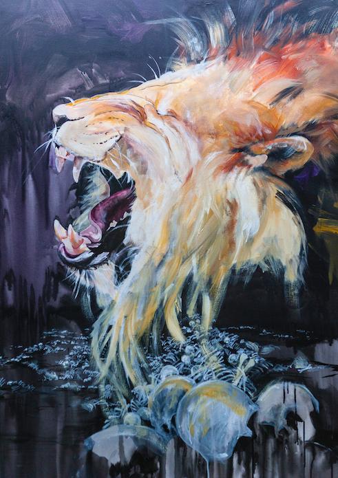 Valley of Dry Bones, Lion of Judah, lion, laughter
