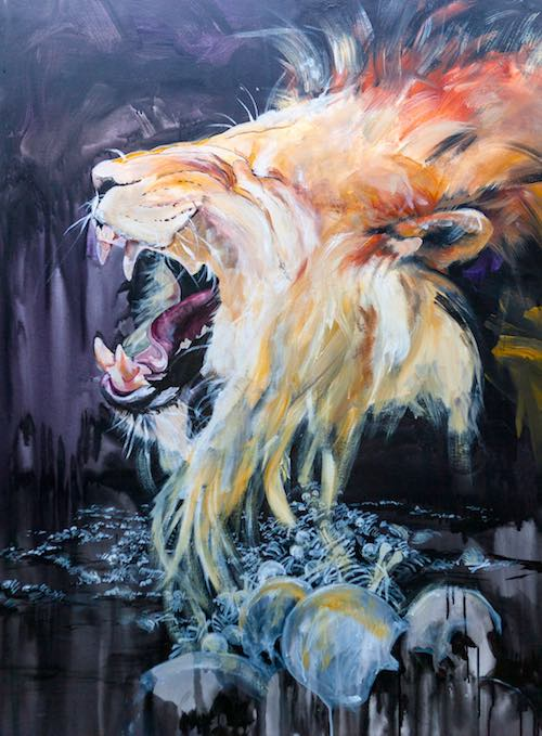 Lion of Judah, lion roaring, lost hopes and dreams, victory