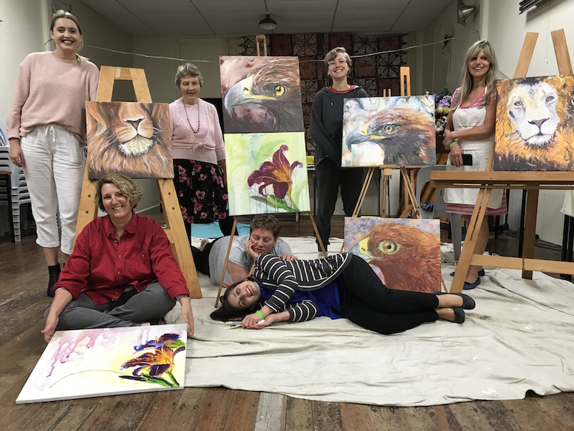 all ages, eagles, prophetic art workshop, christchurch