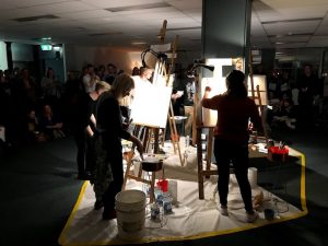 art battle hobart