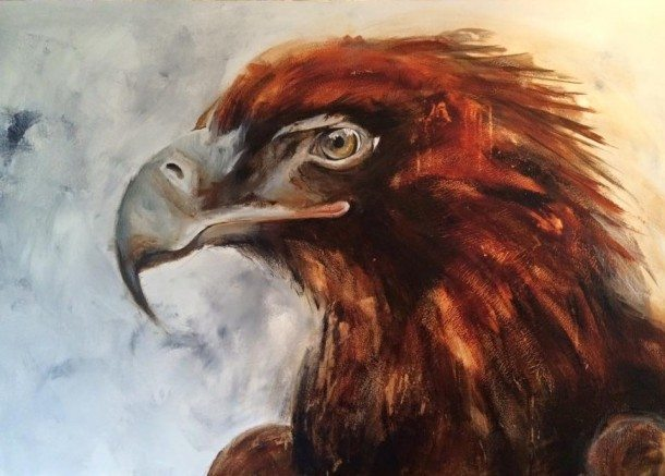 Prophetic painting - eagle