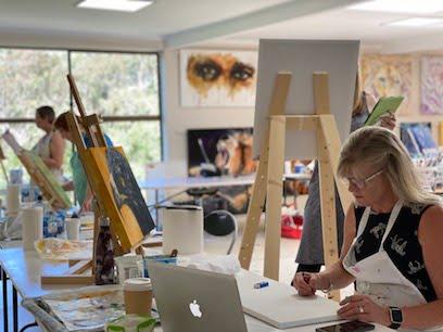 unlock your creativity art retreat