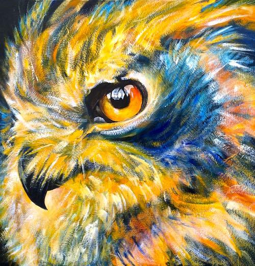 prophet in the darkness, owl