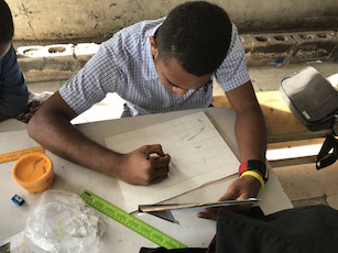 Fiji art workshop, art skills