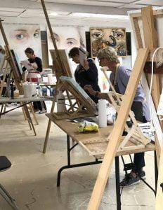 art workshop, prophetic art workshop